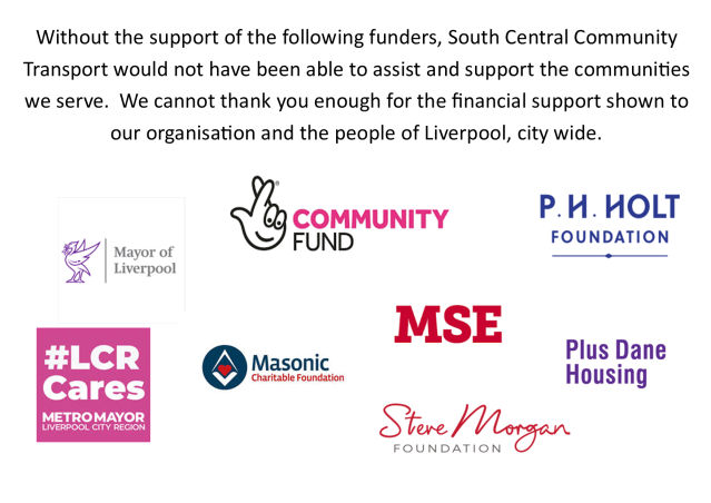 thank you to funders